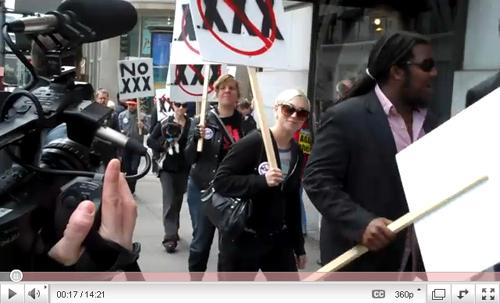 FSC protests xxx domain