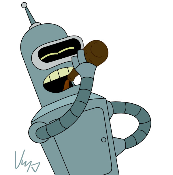 bender_drinking_beer