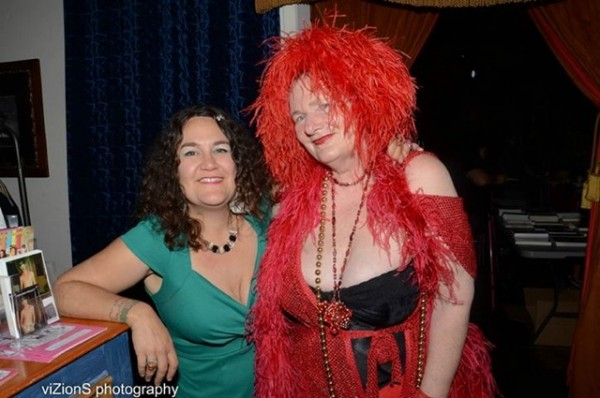"Whore's Bath founder Erica Fabulous and Carol Leigh (Photo by Graig ""Jaguar"" Brooks)"