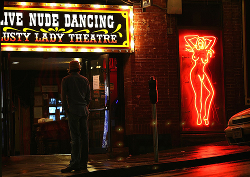 RIP Lusty Lady (Photo by Thomas Crown in 2005, via flickr)