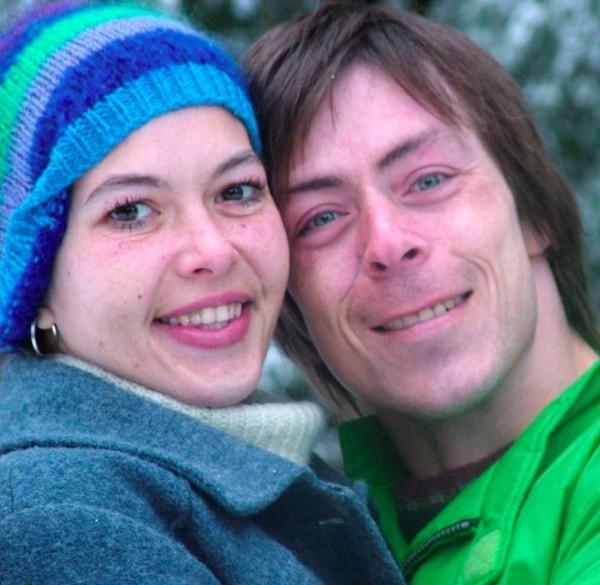 Tracy Connelly with her partner, Tony Melissovas(Photo via Australian Broadcasting Company, courtesy of Tracy's family and friends)