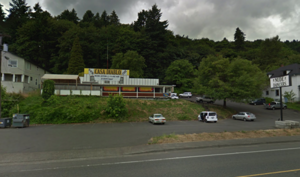 Portland's vegan eatery turned strip club, Casa Diablo (Google street view)
