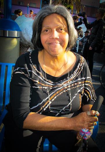 Veteran multi-issue activist Miss Major (photo courtesy of Carol Leigh, via missmajor.com)