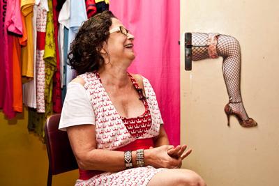 RIP Gabriella Liete, veteran Brazilian sex workers' rights activist (photo by Tomas Langel)