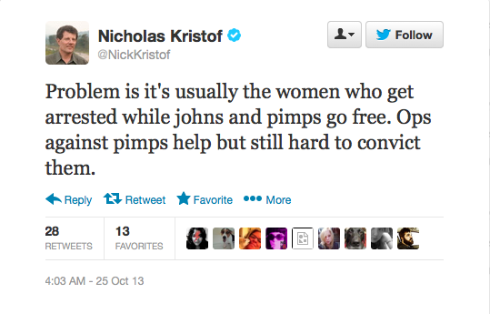 oh yeah is that the problem, Nick? Maybe stop helping cops, then.