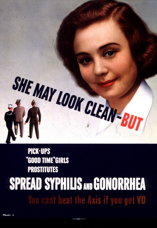 1940 World War II military propaganda poster (Image courtesy of the National Library of Medicine)