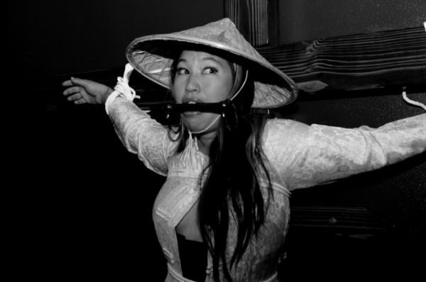 "Mariko Passion, from ""Colonizer Fantasy"" series (Photo by Alex Safron, copyright Mariko Passion 2010)"