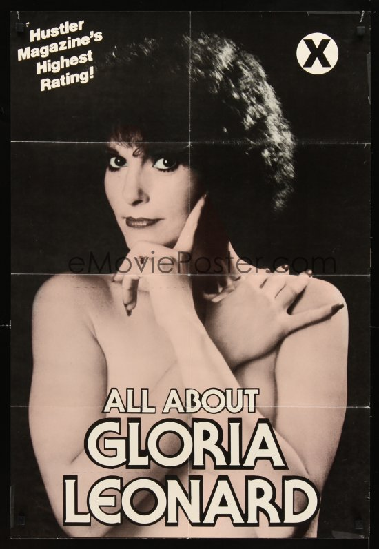 Gloria Leonard, 1940-2014. (image via emovieposter.com)