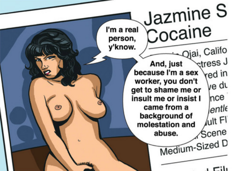 (Panel from Sex Criminals)