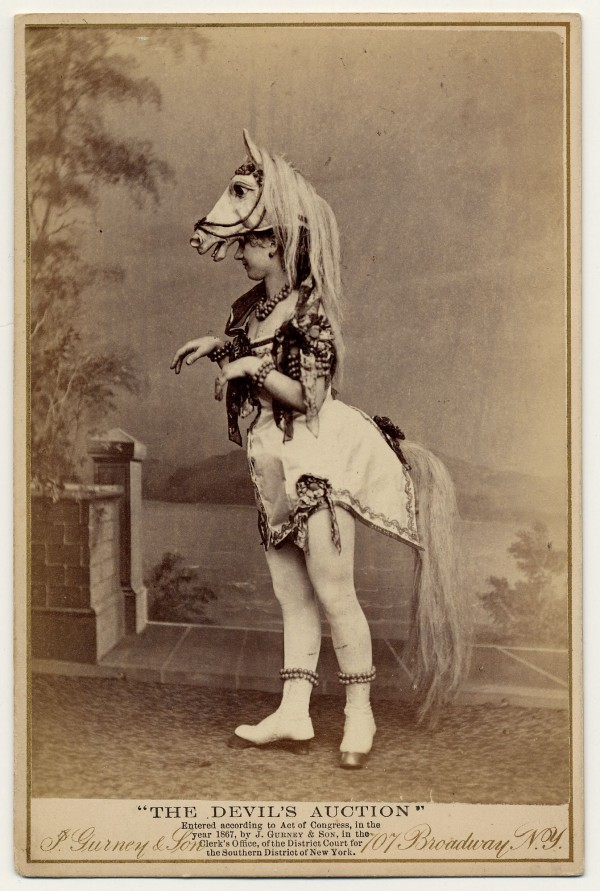The Devil's Auction, J. Gurney & Son (studio), part of the Charles H. McCaghy Collection of Exotic Dance from Burlesque to Clubs