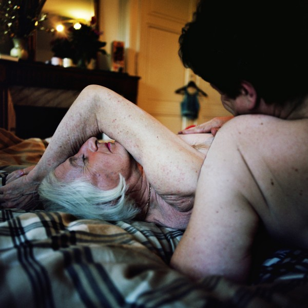 "Claudette, Swiss intersex sex worker and grandfather, immortalized by Malika Gaudin Delrieu's photography: ""I have the sex of the angels, why would I be ashamed of it?"" (Photo by Malika Gaudin Delrieu via the Huffington Post)"