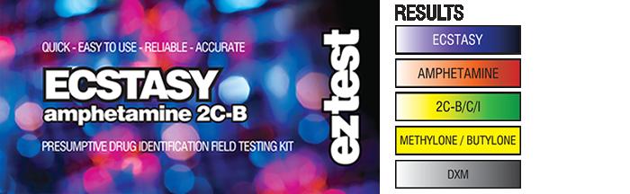 An MDMA testing kit, a must for any debauchee worth her salt. (Photo via EZTest site)