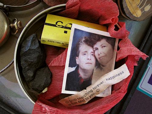 "Feinberg and hir longtime partner, Minnie Bruce Pratt.(""Happiness"", a photo by Feinberg via hir Flickr account)"