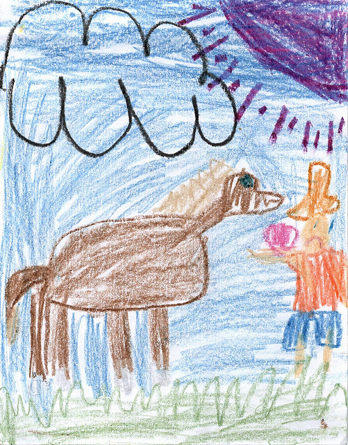 (Photo of a child's drawing by Ryan Cheung, via Flickr and the Creative Commons)