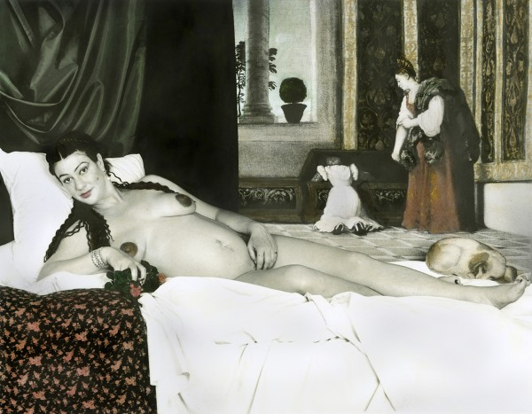 "Juniper Fleming's ""Venus of Urbino"" in Reclamation and (Dis)Atonement. (Via Fleming's site)"