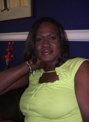 Duanna Johnson, a Black trans sex worker who was beaten by police after a prostitution arrest in 2008 because she refused to respond to being called transphobic slurs in lieu of her name, then murdered later that year by a shooter who was never identified. (Photo via Tennessee Equality Project)