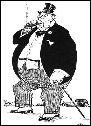 The fat cat boss we all work for. (Image via Wikipedia Commons)