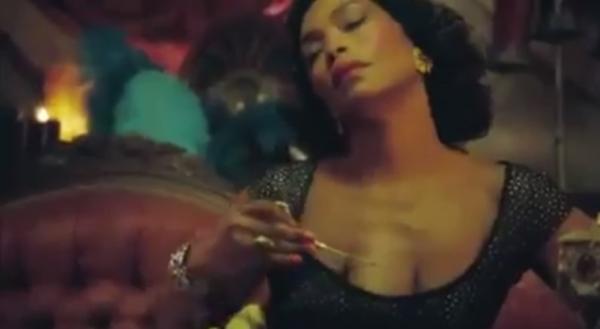 Angela Bassett as Desiree Dupree, American Horror Story: Freak Show's intersex sex worker (Screenshot from American Horror Story )
