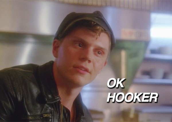 Evan Peters as Jimmy Darling in his Brando leathers. (Screenshot from American Horror Story)