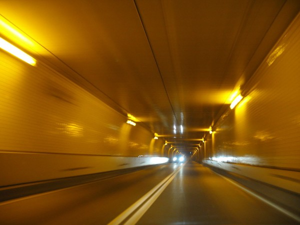 That metaphorical, endless tunnel. (Photo by Andrew Bossi of the Harbor Tunnel in Baltimore, via Wikipedia)