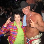 "Randy ""Master Blaster"" Ricks and his momager (image via Ricks' Facebook page)"