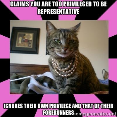 (Carceral Feminist Cat meme)