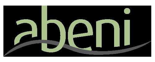 The Abeni logo. (Via Meg Munoz)