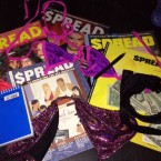 A couple $pread magazines.