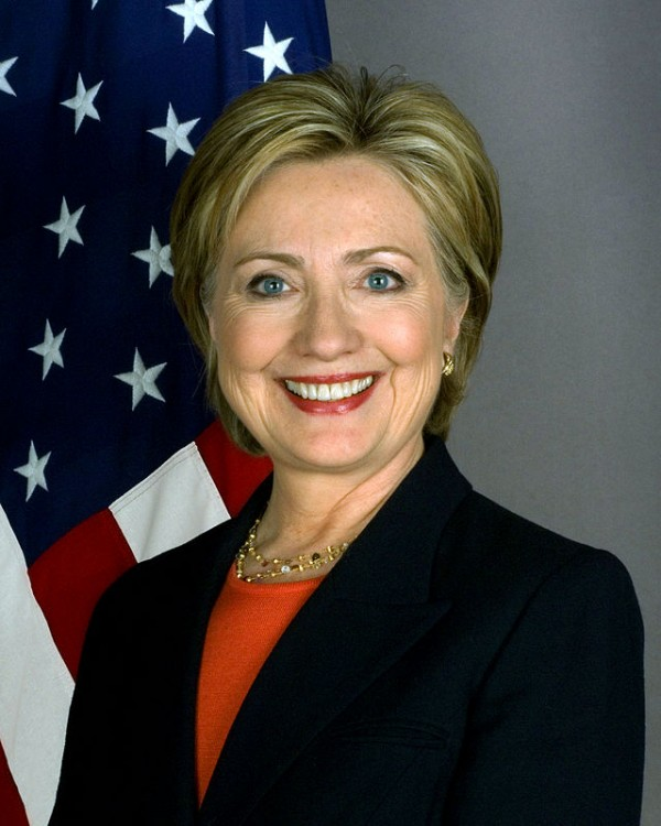 Hillary Clinton in 2009. (Official photo from Department of State page)