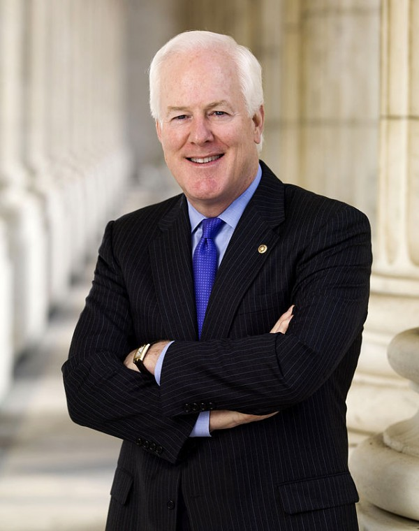 Senator John Cornyn, the Republican Senate majority whip and the sponsor of the Justice for Victms of Trafficking Act. (Official Congressional portrait photo via Wikimedia)