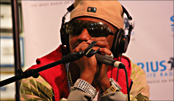 Fabolous at Sirius Satellite Radio. (Photo by Flickr user enfocar1200)