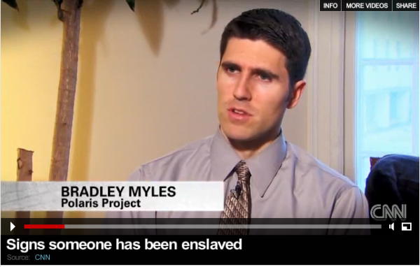 Bradley Myles. (CNN video screenshot)