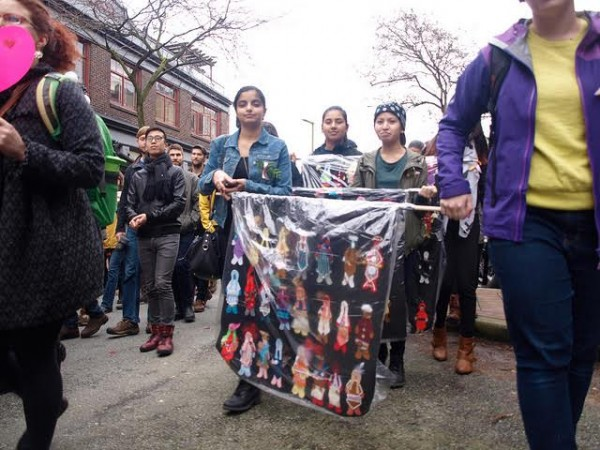 25th Annual Feb 14th Women's Memorial March, 2015 in Vancouver (Photo by Flickr user jencastrotakespictures)