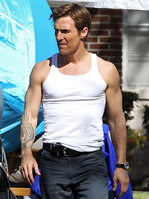 Matthew McConaughey as Rust Cohle. Don't you hate it when cops are hot?