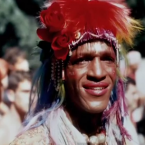 "Marsha P Johnson, Stonewall riot participant, STAR House founder, ACT UP activist, and Black trans woman street sex worker. (Screenshot from ""Pay It No Mind: The Life And Times of Marsha P Johnson"")"