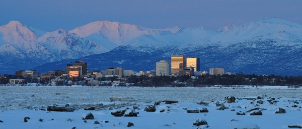 Anchorage, Alaska (via Flickr user paxson_woelber)