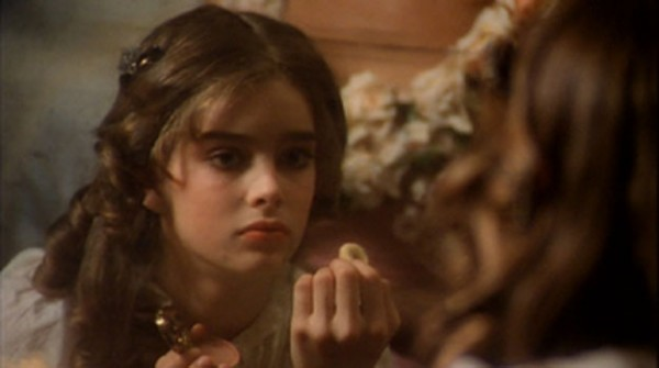 This isn't Brooke Shields in Pretty Baby, either.