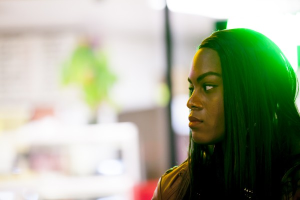 Mya Taylor in TANGERINE, a Magnolia Pictures release. (Photo courtesy of Magnolia Pictures.)
