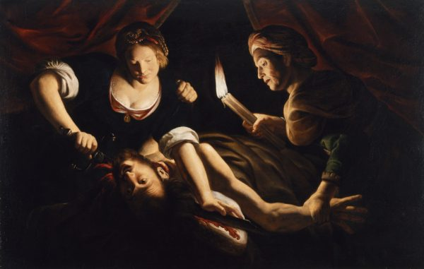 "Trophime Bigot's ""Judith Cutting Off The Head Of Holofernes"" (via Wikimedia)"