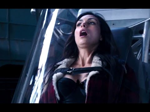 Vanessa trapped in the oxygen tank.